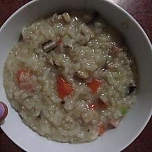 鸡肉香菇粥