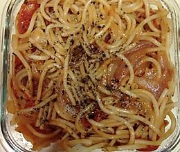意式番茄意大利面的做法