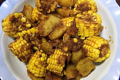 茄汁土豆玉米