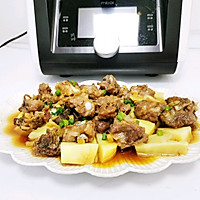 土豆蒸排骨的做法图解13