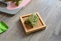 抹茶•牛轧糖的做法
