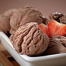 自制巧克力冰淇淋