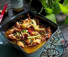 乡村小炒鸡——三口之家的一鸡两吃的做法
