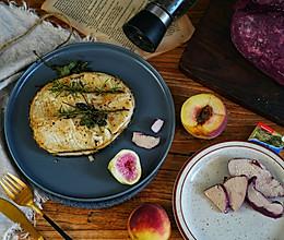 法式香煎鳕鱼配红酒鹅肝的做法