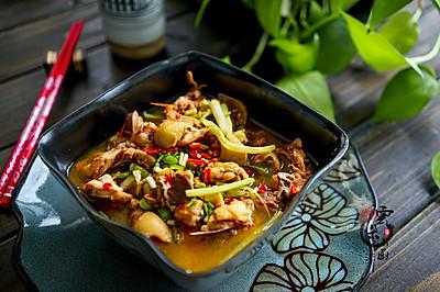 乡村小炒鸡——三口之家的一鸡两吃