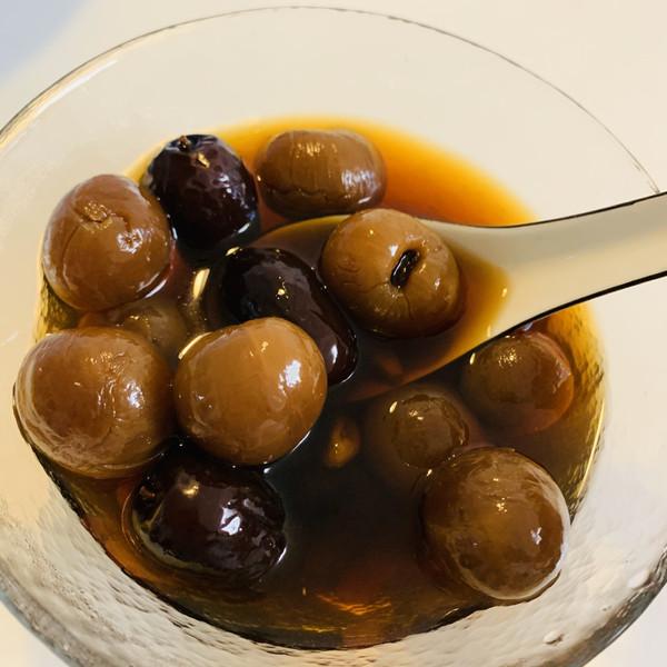桂圆红枣枸杞红糖水-女生养生必备
