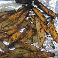 橄榄油烤薯条