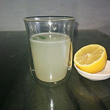 简单、粗暴自制柠檬水