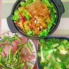 酸菜粉丝肉末煲
