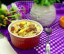 美味暖胃糯米饭的做法