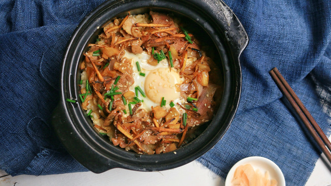 砂锅饭的做法