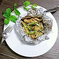 不用洗碗的锡纸盐焗鸡腿【烤箱懒人菜】蜜桃爱营养师私厨的做法图解7
