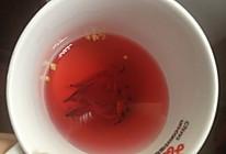桂花玫瑰茶的做法