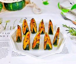 #夏日撩人滋味#香烤南瓜的做法