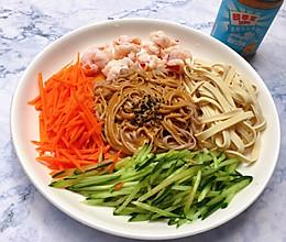 #四季宝蓝小罐#花生酱凉拌面,清爽美味的做法
