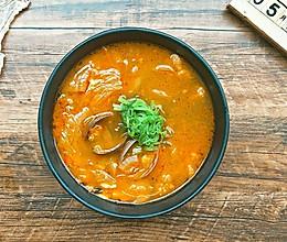 #520,美食撩动TA的心!#暖乎乎的泡菜豆腐汤的做法
