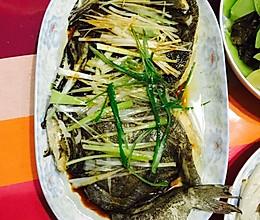 清蒸深海鱼头的做法