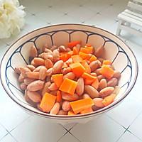 #快手又营养,我家的冬日必备菜品 #胡萝卜拌花生米的做法图解9