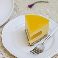 百香果南瓜慕斯生日蛋糕(百香果果冻夹层)的做法图解27