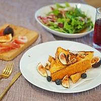 创意早餐|经典法式黄油吐司#花10分钟,做一道菜!#的做法图解6