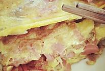 火腿烤馕鸡蛋饼的做法