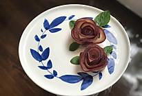紅酒梨玫瑰花的做法