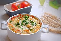 #秋天怎么吃# 蘑菇鸡肉焗饭的做法