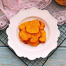 #美食新势力#烤红薯片