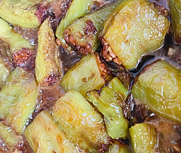 #我们约饭吧#虎皮尖椒酿肉的做法