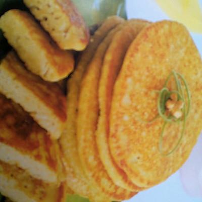 黄豆面煎饼