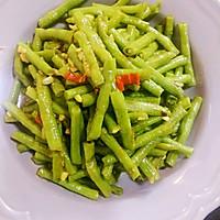 蒜蓉花椒炒长豆角(豇豆)的做法图解5