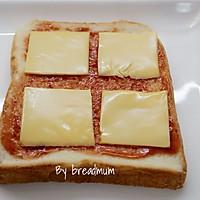 吐司批萨-5分钟搞定超简易的营养早餐的做法图解3