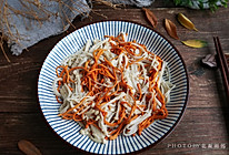 虫草花拌金针菇的做法