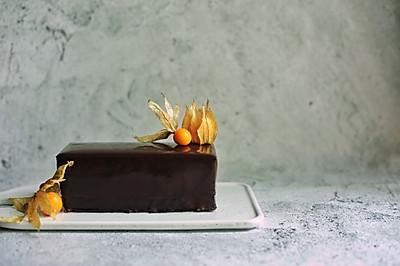 法式巧克力糜酱蛋糕
