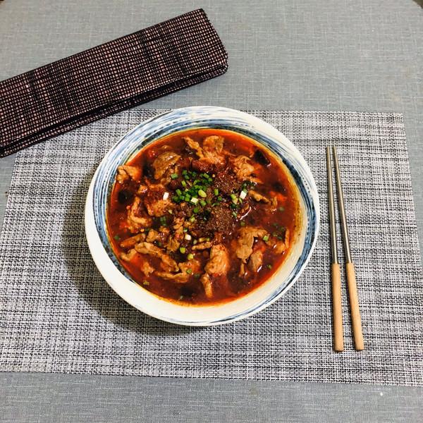 快手川菜:水煮肉片的做法
