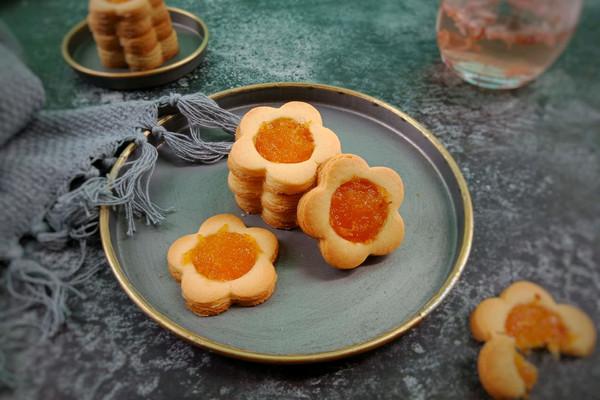 菠萝果酱饼干的做法