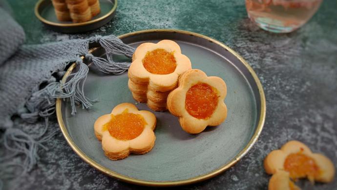 菠萝果酱饼干