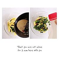 #今天吃什么#凉拌菠菜鸡蛋丝,清肠道解油腻!的做法图解5