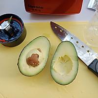 牛油果虾仁沙拉的做法图解5