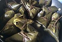 咸香粽子(半肥瘦肉、绿豆馅糯米)的做法