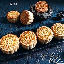 传统纯黑芝麻馅中式月饼 附馅做法#让爱不负好食光#