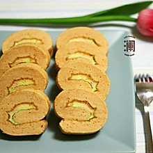 奶油戚风蛋糕卷