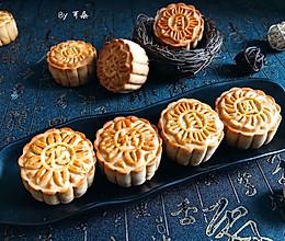 传统纯黑芝麻馅中式月饼 附馅做法#让爱不负好食光#的做法