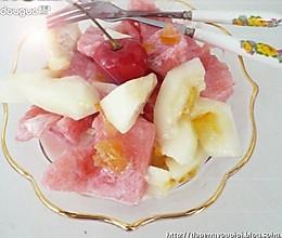 夏日解暑水果沙拉的做法