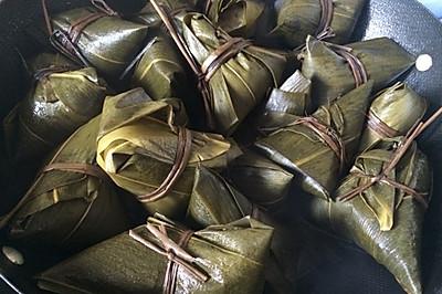 咸香粽子(半肥瘦肉、绿豆馅糯米)