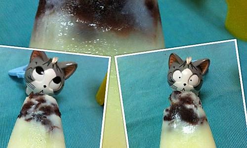 红豆牛奶冰棍的做法