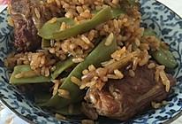 排骨豆角焖饭的做法
