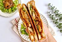 #舌尖上的端午#韩式烤肉三明治,简单又好吃的做法
