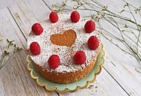 情人节专属  ins爱心可可蛋糕的做法