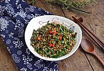 #春季食材大比拼#XO酱炒韭菜蚬肉的做法